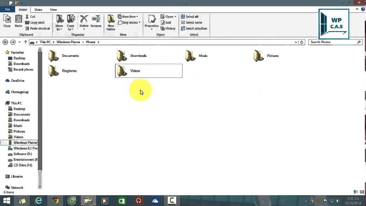 Hướng dẫn cài File Xap từ thẻ nhớ trên Windows Phone