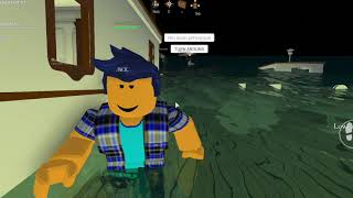 The Sinking Ship: Titanic-Roblox Short Film