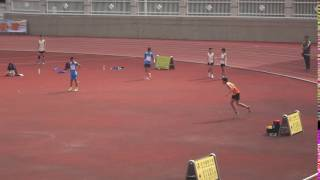 荃灣區分齡賽2016(田灣始南)莫偉謙跳高