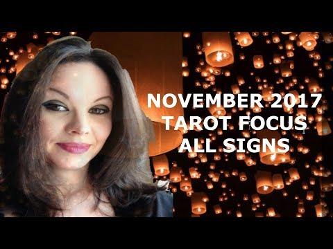 NOVEMBER 2017 TAROT FORECAST ALL SIGNS