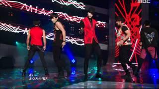 MBLAQ - MONALISA, 엠블랙 - 모나리자, Music Core 20110813