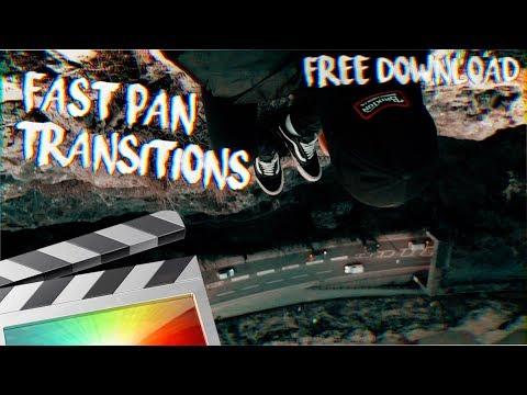 Free Fast Pan Transitions - Final Cut Pro X - Ryan Nangle