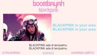 BLACKPINK - BOOMBAYAH [MV, EASY LYRIC, LIRIK INDONESIA]