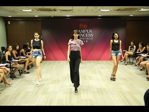 Campus Princess 2018: Rampwalk session with Alesia Raut