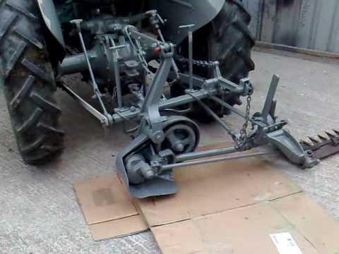 Ferguson finger bar mower mp4