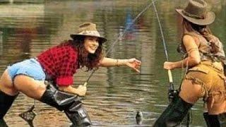 Приколы и курьезы на рыбалке, ржачная подборка