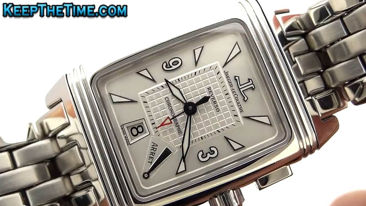 jaeger lecoultre reverso gran sport chronographe