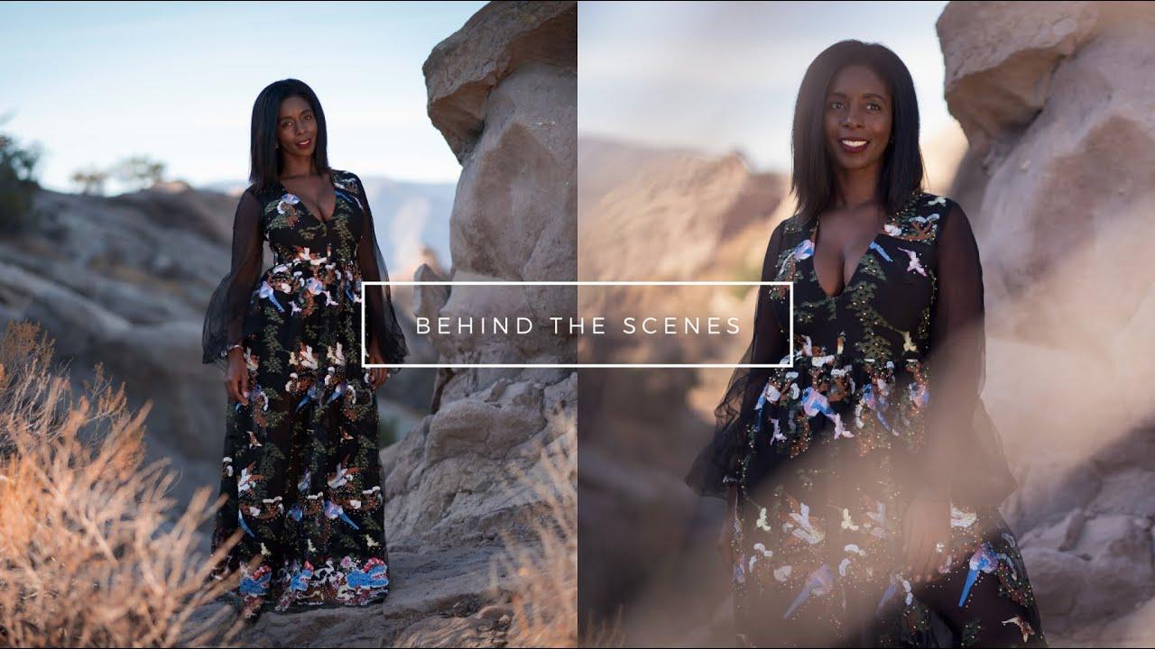 Behind the Scenes Shoot!!