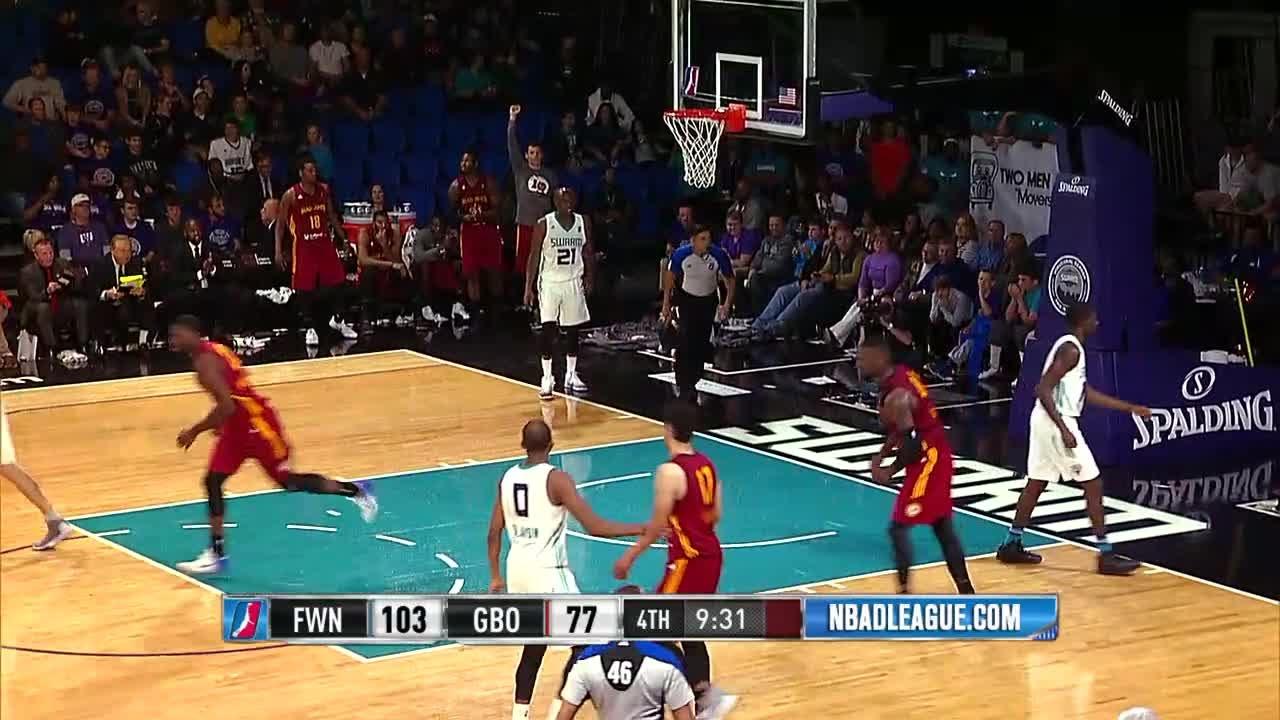 Ben Bentil posts 27 points & 10 rebounds vs. the Swarm, 11/12/2016