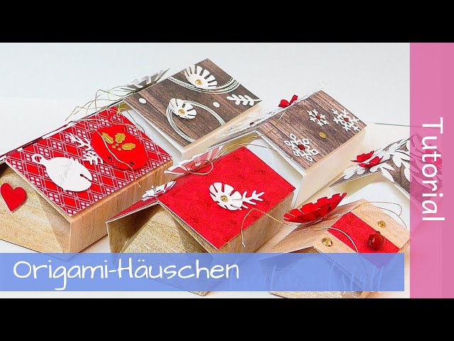 Origami-Haus Box - Workshop To Go - Anleitung - Tutorial - Stampin' Up! - YouTube