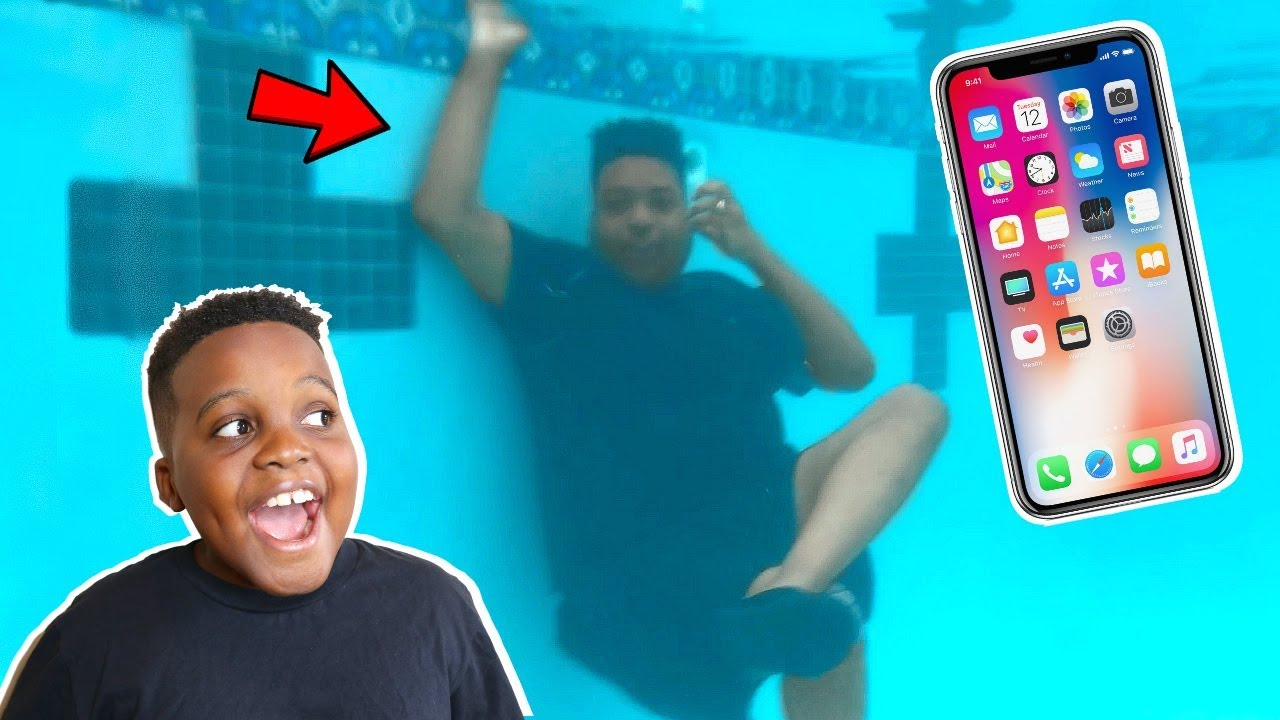 Onyx kids vidmoon for Dropped iphone in swimming pool