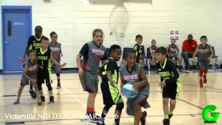 Victorville NJB ALL-STARS D3 vs Hesperia 2016 Basketball