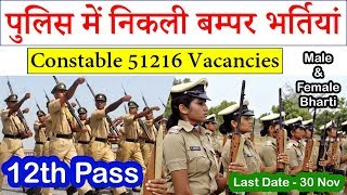 UP Police Recruitment 2019 Constable 51216 Vacancy @ uppbpb.gov.in