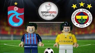Trabzonspor Fenerbahçe Maç Özeti 1-1 (LEGO SÜPER LİG MAÇ ÖZETLERİ)/ Lego Football  Goals Highlights