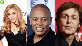 10 richest musicians in the world