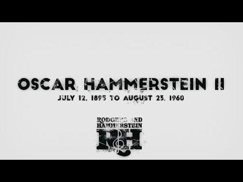 A Tribute to Oscar Hammerstein II