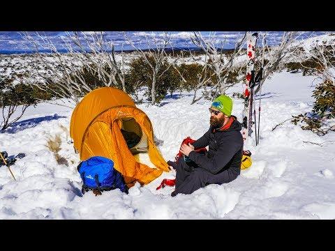 Camping In The SNOW! (Australian Alps)