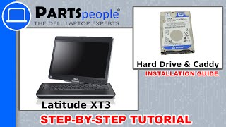 Dell Latitude XT3 Hard Drive & Caddy How-To Video Tutorial