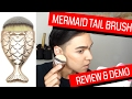 Frushy the Mermaid Tail Brush Review and Tutorial | Foundation, Contour, Highlight | MAKEUP TALKS