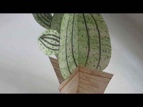 How To Paper Cactus - DIY Crafts Tutorial - Guidecentral