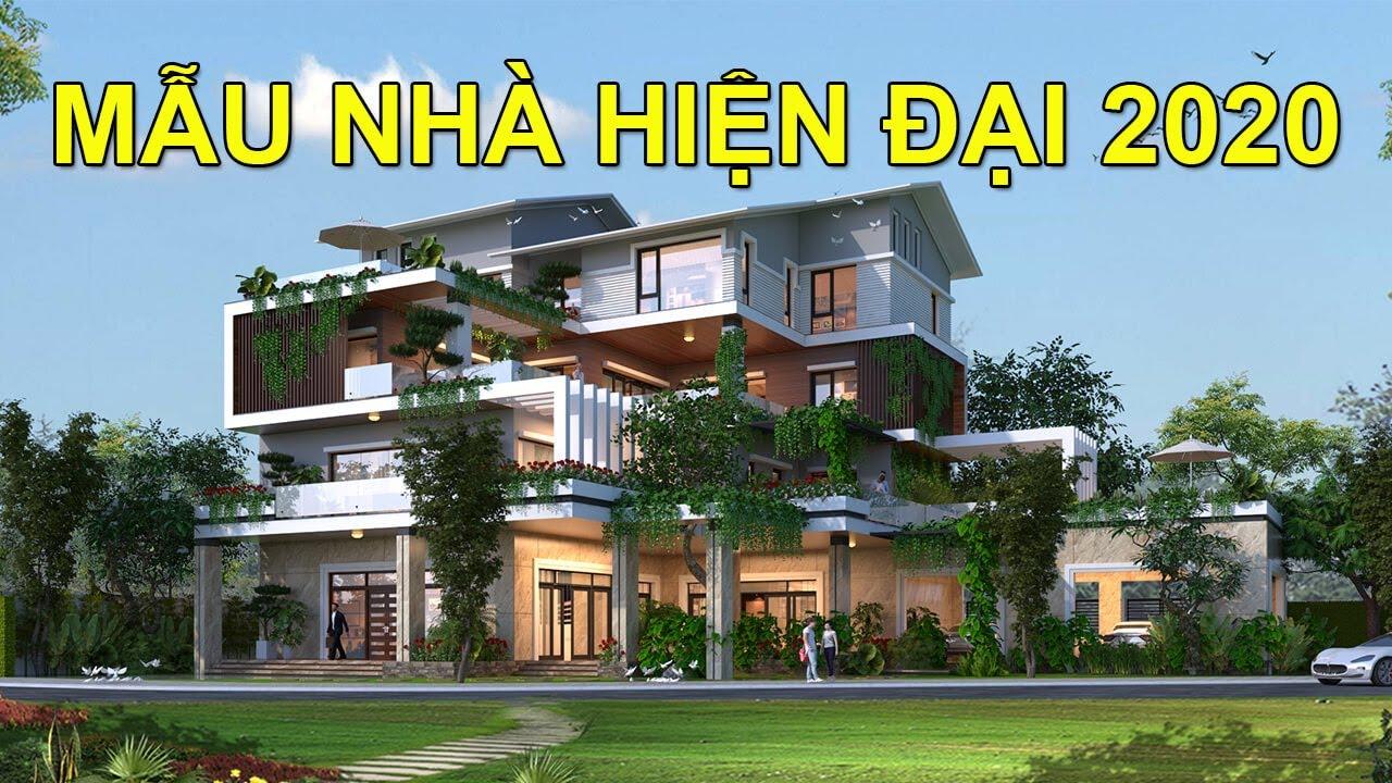 10 Mẫu Nhà Đẹp Hiện Đại 2020   Modern Villa