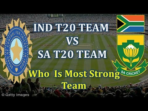 Indian T20 Team Vs Africa T20 Team 2018 | Indian t20 Squad vs South Africa 2018