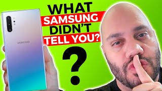 Samsung Galaxy Note 10 Problems? What Samsung DIDN