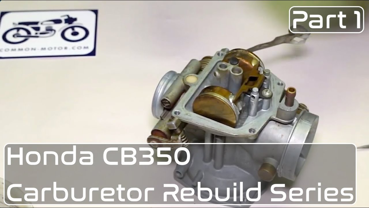 hight resolution of honda cb350 carburetor rebuild part 1 disassembly youtube cb350 carb diagram cl350 carb diagram