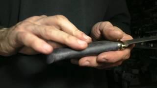 Опыт № 207 нож Тайга Булатная сталь Назаров