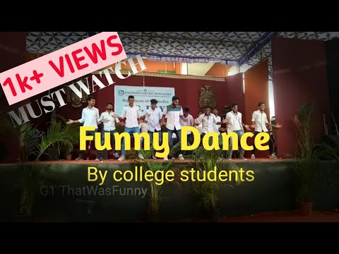 #University College Mangalore || #Funny dance by college students || #college day