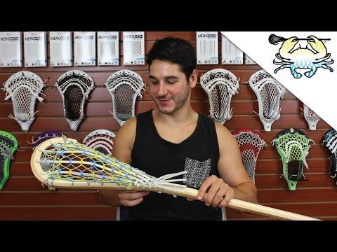 Traditional Lacrosse: Custom Wooden Stick
