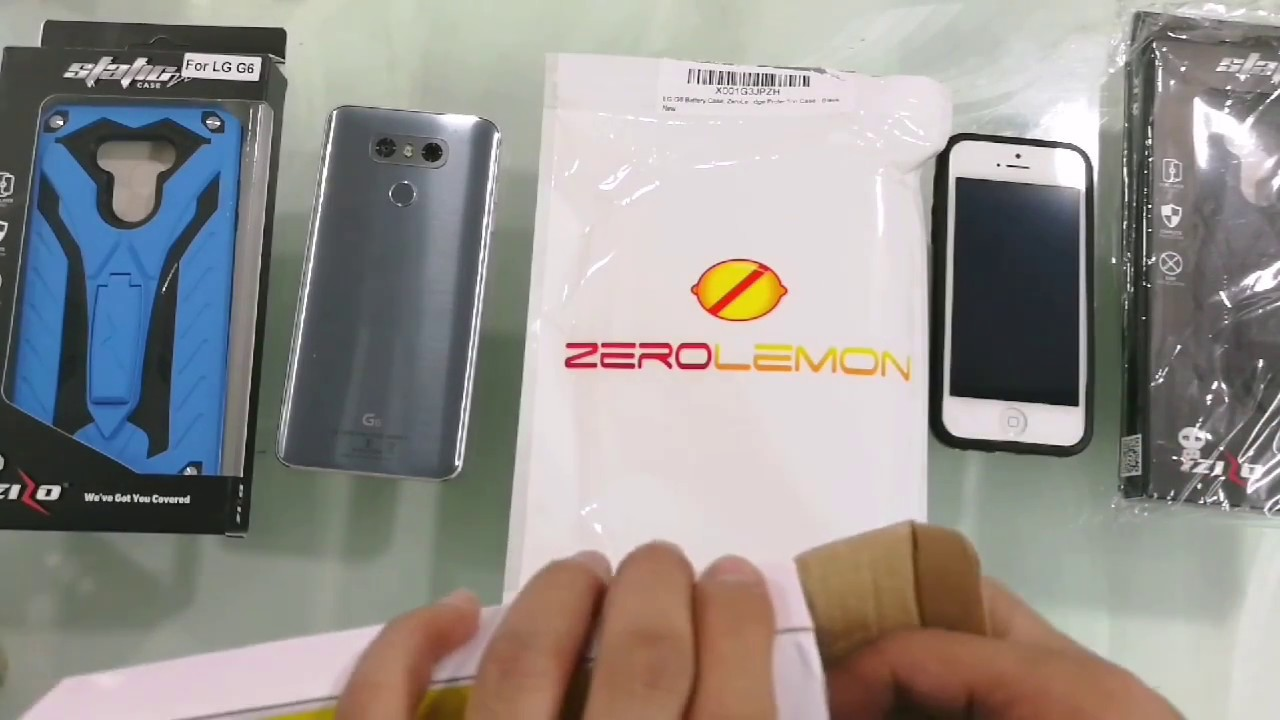 ZEROLEMON FOR LG G6 BATTERY CHARGING CASE 8000 MAH UNBOXING