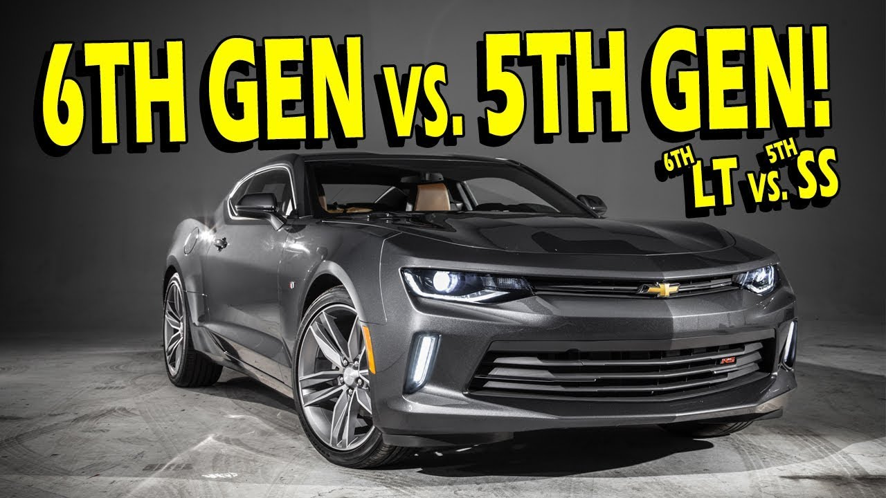 6Th Gen Camaro >> 6th Gen Camaro Lt Rs Vs 5th Gen Camaro Ss I Know Take It To The Track