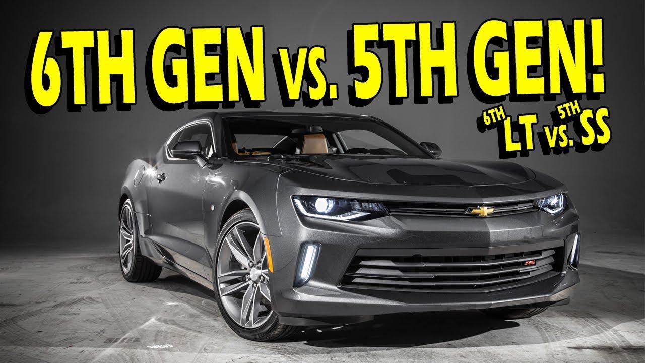 6Th Gen Camaro >> 6th Gen Camaro Lt Rs Vs 5th Gen Camaro Ss I Know Take It To