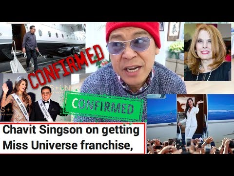 CONFIRMED!??Chavit Singson Takes Over Miss Universe Philippines!!