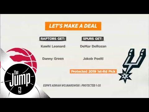 Were the Toronto Raptors smart trading DeMar Derozan for Kawhi Leonard?  The Jump  ESPN