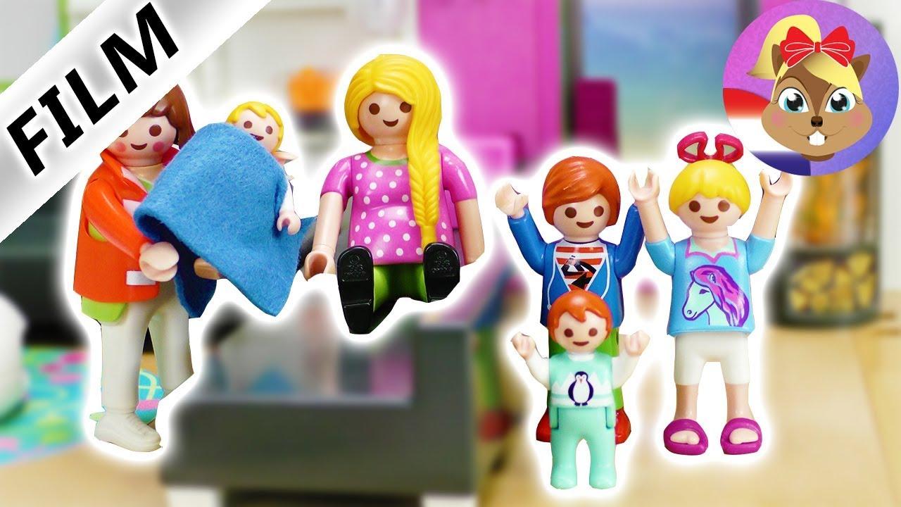 ausmalbilder playmobil familie vogel  playmobil film