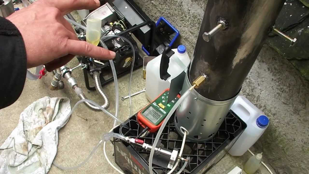 ofenrohr hho katalysatorheizung von holger - oventube catalysator hho heating