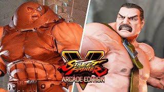 Street Fighter 5 AE - JUGGERNAUT vs HAGGAR (Marvel vs Capcom) Gameplay PC Mod @ 1080p (60ᶠᵖˢ) HD ✔