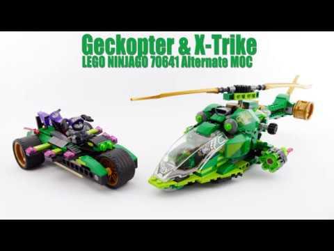 Geckopter X Trike Lego Ninjago 70641 Alternate Moc Youtube