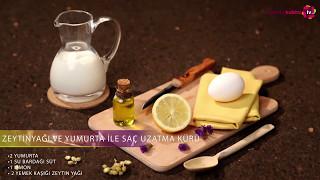 Zeytin Yağı ve Yumurta ile Saç Uzatma Kürü nasıl yapılır?