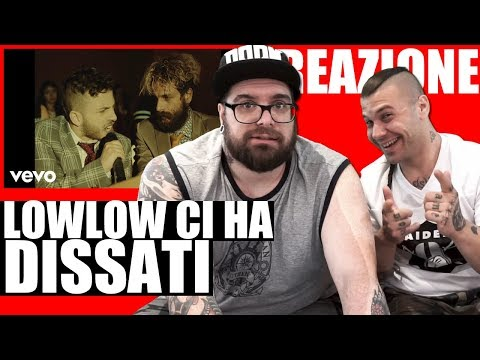 LOWLOW DISSA GLI ARCADE BOYZ | BASSO BASSO RAP REACTION