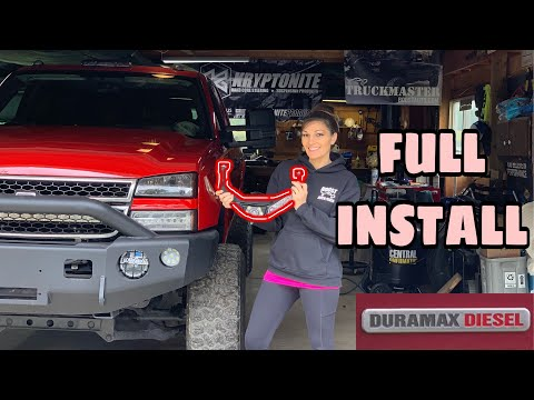 How to Install Kryptonite upper control arms! GM/GMC Truck