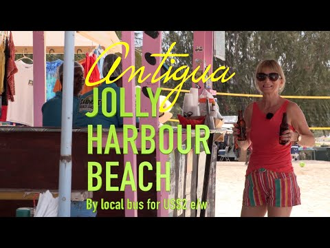 Antigua, Jolly Harbour Beach - Castaways Bar, Sandra's Bar