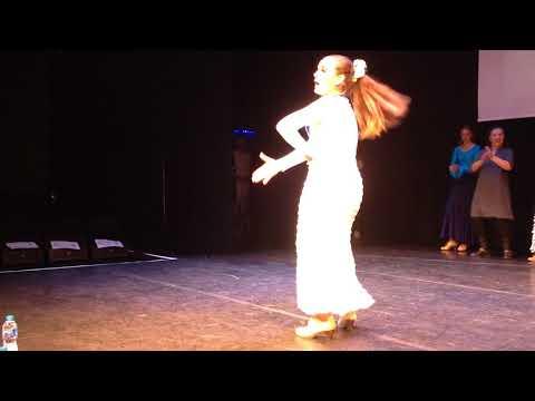 Ariana - Flamenco Solo, UK Dance Elite Championship-Semi Final 10 Sept, 2017