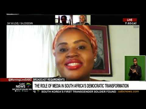 The role of the media in South Africa's democratic transformation