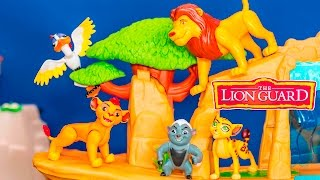 LION GUARD Disney Lion Guard Multipack with Bunga + Kion Toys Video Unboxing