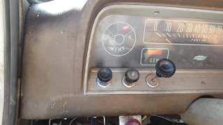 66 Chevy c30 292 cold start