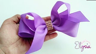 [PREVIEW] Laço Boutique Assimétrico Ribbon Bow DIY by Elysia Handma...