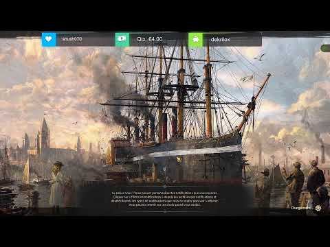 Let's Play Narratif Anno 1800 Partie 1 avec Qtx |